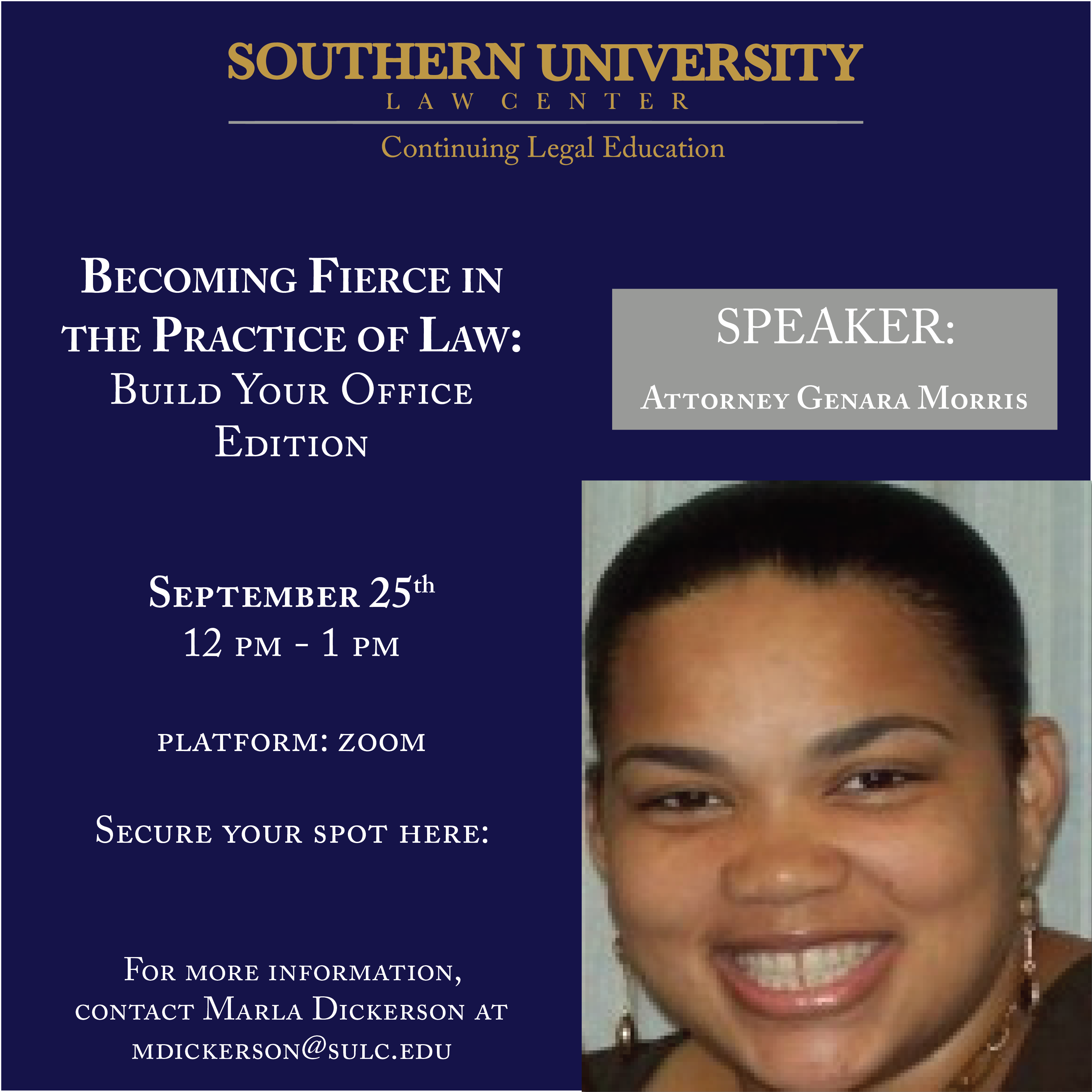 Becoming Fierce in the Practice of Law-Building Your Practice